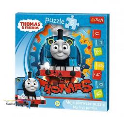 Moje prvé puzzle Lokomotíva Tomáš 6 dielikov
