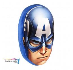 Vankúšik 3D Avengers Kapitán Amerika 35cm