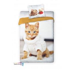 Obliečky Mačiatko hrdzavé