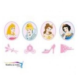 Mini penové figúrky Princezné