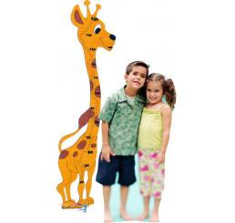 Detský meter veľký Žirafa usmievavá
