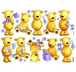 Nálepky na stenu Medvede