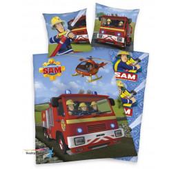 Obliečky Požiarnik Sam auto