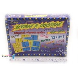 Hra elektrické sčítanie a odčítanie do 20