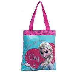 Nákupná taška Ľadové kráľovstvo Elsa 32x38x5 cm