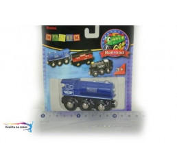Parná lokomotíva modrá