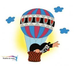 Lampička Krtko v balóne