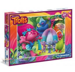 Puzzle Trollovia Kartón 100 dielikov