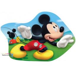 Tvarovaný vankúšik Mickey 37cm