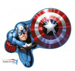 Tvarovaný vankúšik Avengers 37cm