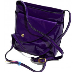 Crossbody kabelka fialová