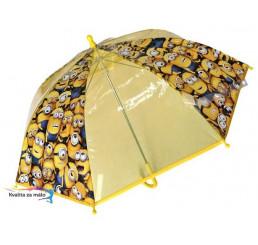 Detský dáždnik Mimoni rodina