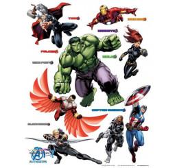 Dekorácia na stenu Avengers Maxi
