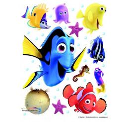 Maxi nálepka na stenu Hľadá sa Nemo