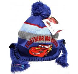 Detská čiapka Cars modrá
