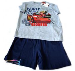 Detské pyžamo Disney Cars sivo-modré