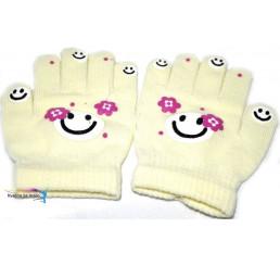 Detské rukavice smajlík