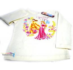 Detské tričko Disney Princezné biele
