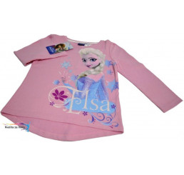 Detské tričko Frozen ružové