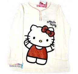 Detské tričko Hello Kitty biele