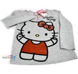 Detské tričko Hello Kitty sivé