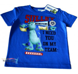 Detské tričko Monsters University modré