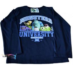 Detské tričko Monsters University tmavo-modré