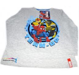 Detské tričko Spiderman Sivé