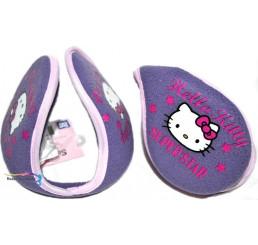Detský chránič uší Hello Kitty Superstar fialový