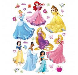 Dekorácia na stenu Princezné Disney Maxi