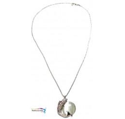 Elegantný náhrdelník Perla s rybou
