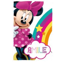 Fleece deka Minnie Smile Polyester, 100x150 cm