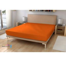 Froté plachta EXKLUSIVE Oranžová 180x200