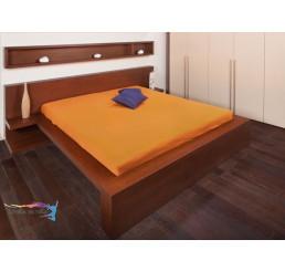 Jersey plachta EXKLUSIVE Sýto oranžová 90x200
