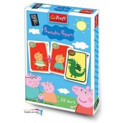 Karty Čierny Peter Prasiatko Peppa Pig