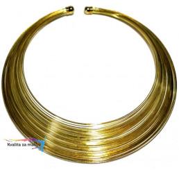 Náhrdelník Gold spiral