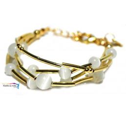 Náramok Golden Pearl 24
