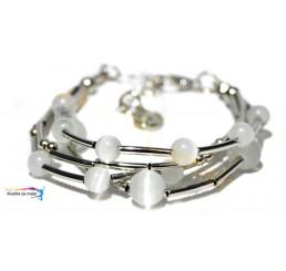 Náramok Silver Pearl 23