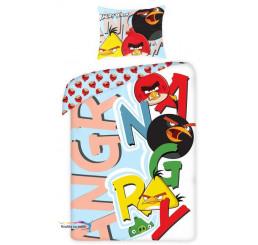 Obliečky Angry Birds písmena