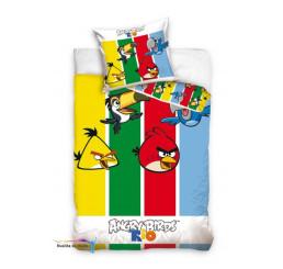 Obliečky Angry Birds pruhy