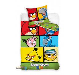 Obliečky Angry Birds Rio kocky
