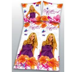 Obliečky Hannah Montana biele