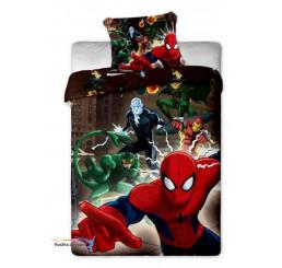 Obliečky Spiderman hnedé