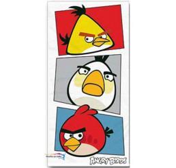 Osuška Angry Birds biela