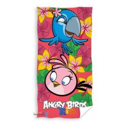 Osuška Angry Birds Rio ružová
