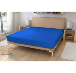 Jersey plachta EXKLUSIVE Oceľovo modrá 180x200