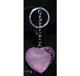 Prívesok Srdce fialové