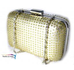 Spoločenská kabelka zlatá