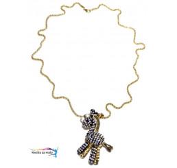 Štýlový náhrdelník koník