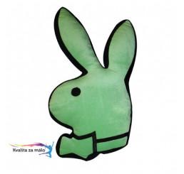Vankúšik PLAYBOY Lime zajačik